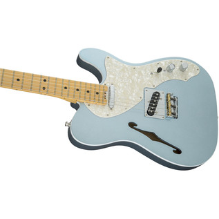 Fender American Elite Thinline Telecaster, MN, Mystic Ice Blue