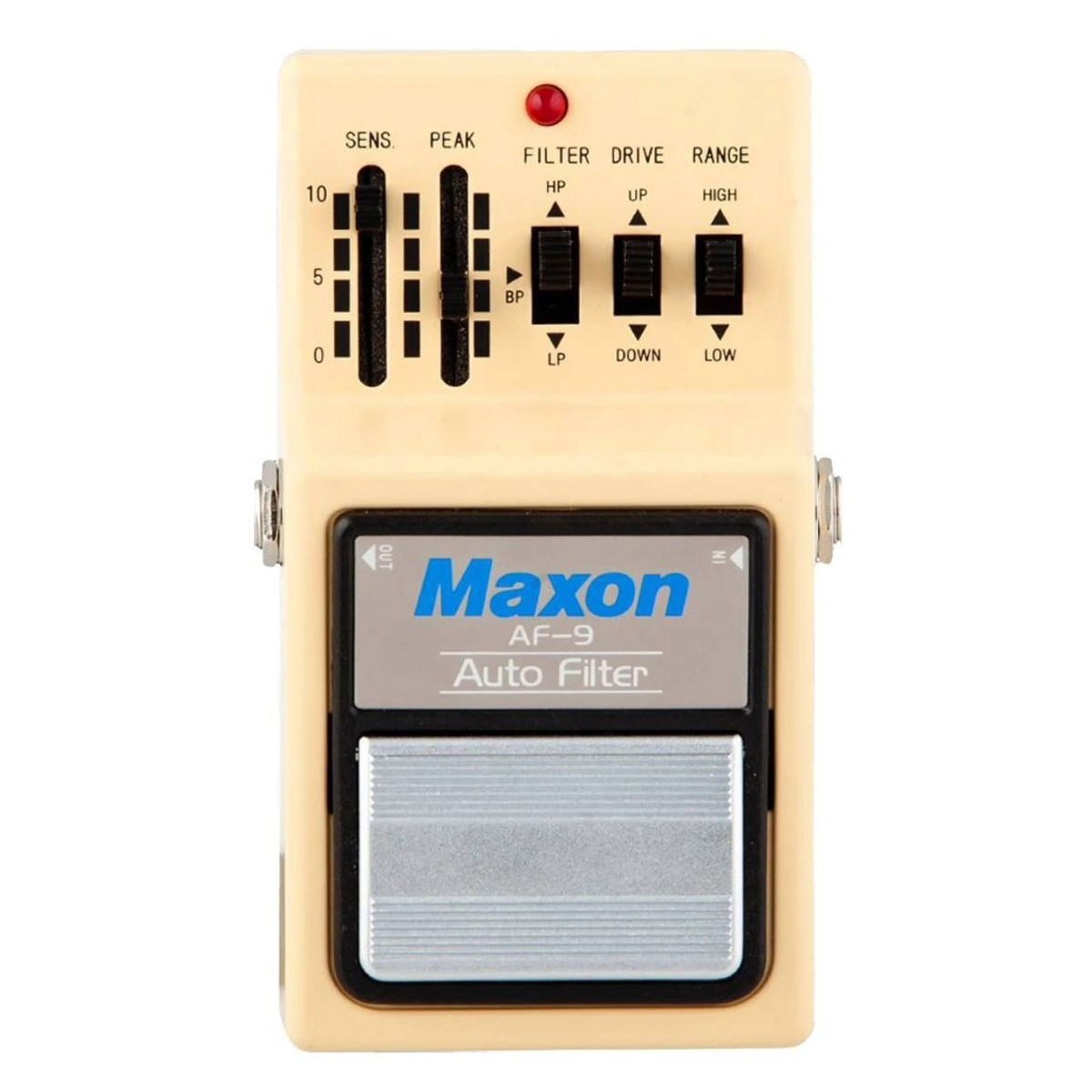Maxon Af 9 Auto Filter Pedal At Gear4music Marshall Input Jack Wiring Af9 Loading Zoom