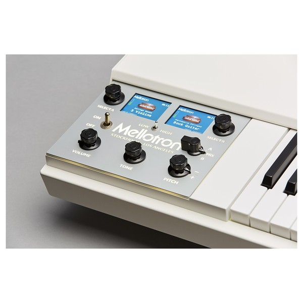 Mellotron M4000D-Mini, White - Detail