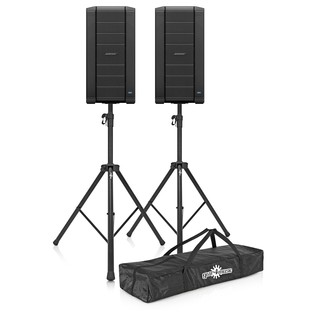 Bose F1 812 Flexible Array Stereo Loudspeaker System with Stands