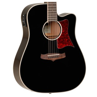 Tanglewood TW5 Dreadnought Cutaway Electro Acoustic Guitar, Black