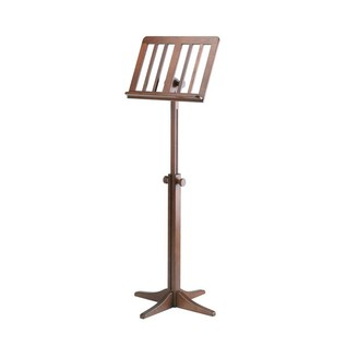 K&M Wooden Music Stand, Walnut