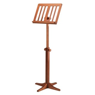 K&M Wooden Music Stand, Cherry