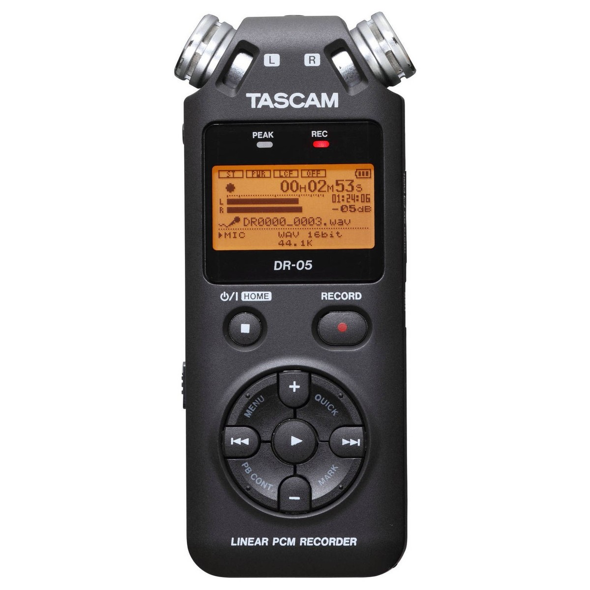 Tascam DR-05 Portable Handheld Audio Recorder