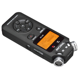 Tascam DR-05 Portable Handheld Audio Recorder - Angled 2