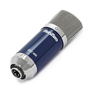 ESI U22XT Vocal Recording Bundle - Microphone Angled