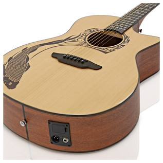 Luna Guitars Oracle Koi 2 Electro Acoustic Guitar