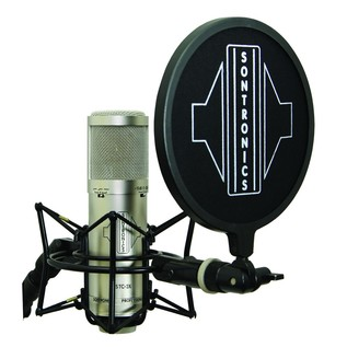 Sontronics STC-3X Home Recording Bundle, Silver - Microphone