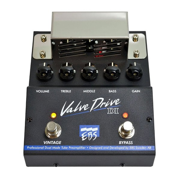 EBS Valve Drive DI Professional Bass Tube Preamp