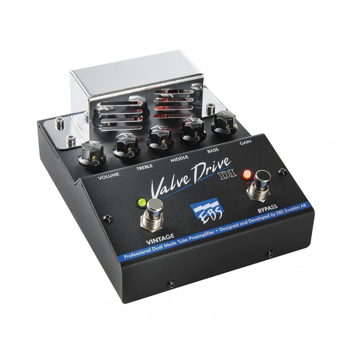 Bass Preamp Di : ebs valve drive di professional bass tube preamp at gear4music ~ Hamham.info Haus und Dekorationen