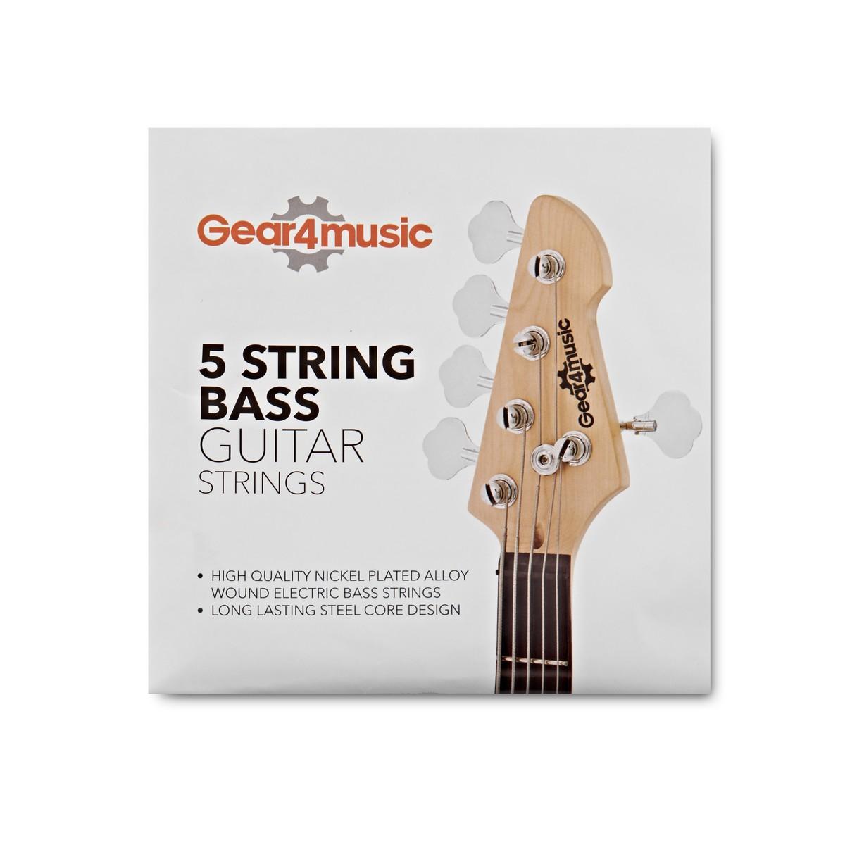 basse /électrique Tirant medium en acier Alliage de nickel pour basse pi/èce de rechange Cordes de guitare basse 4/cordes