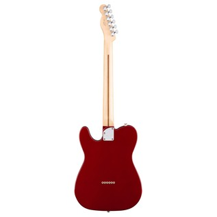 Fender Deluxe Telecaster Thinline Electric Guitar, Apple Red