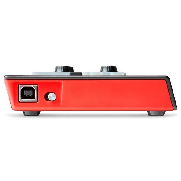 Akai LPD8 Wireless MIDI Controller - Side