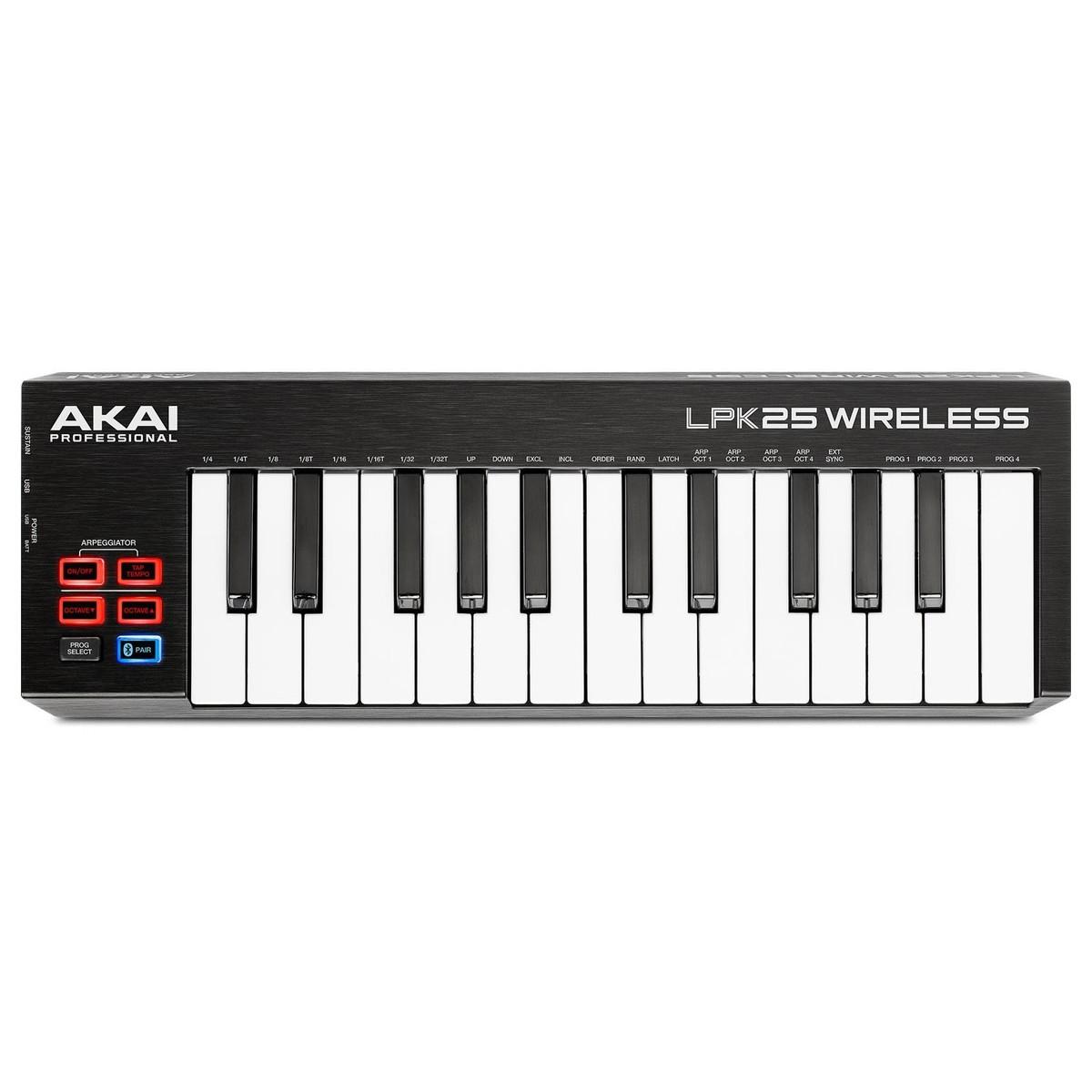 akai lpk25 wireless midi controller at gear4music com rh gear4music es Akai LPK25 Reason Akai LPK25 Tutorial