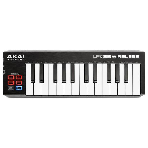 Akai LPK25 Wireless MIDI Controller - Top