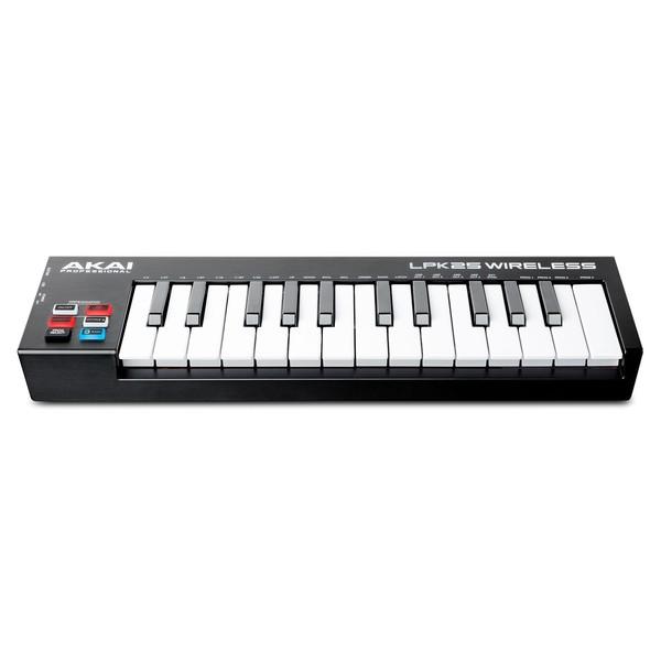 Akai LPK25 Wireless MIDI Controller - Front Slanted