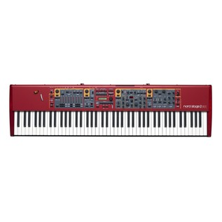 Nord Stage 2 EX 88 and Lightweight Keyboard Case with Wheels - Nord Top