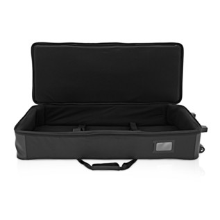 Nord Stage 2 EX 88 and Lightweight Keyboard Case with Wheels - Case Open