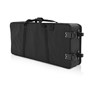 Nord Stage 2 EX 88 and Lightweight Keyboard Case with Wheels - Rear