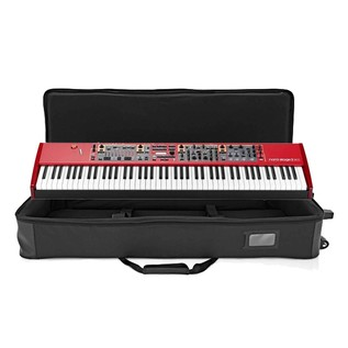 Nord Stage 2 EX 88 and Lightweight Keyboard Case with Wheels