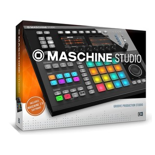 Native Instruments Maschine Studio with Komplete 11 ULT, Black - Maschine Boxed