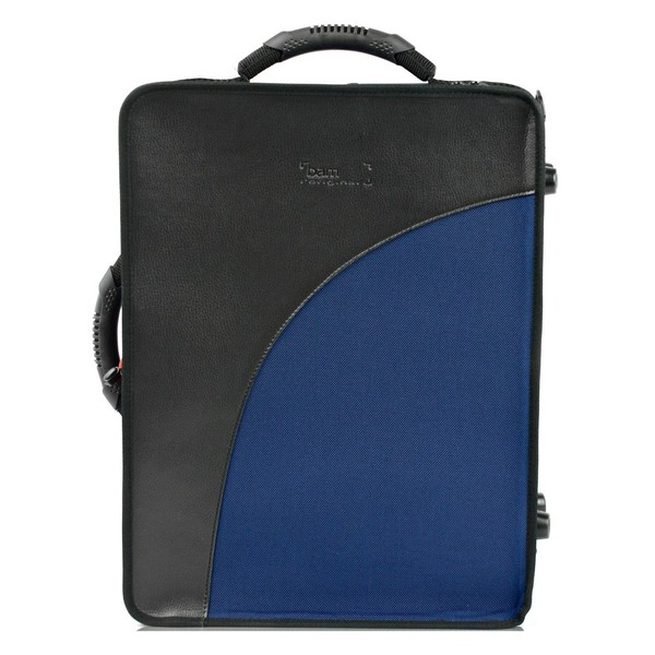 BAM Trekking Double Clarinet Case, Navy Blue