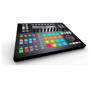 Native Instruments Maschine Studio with Komplete 11, Black - Maschine Angled 2