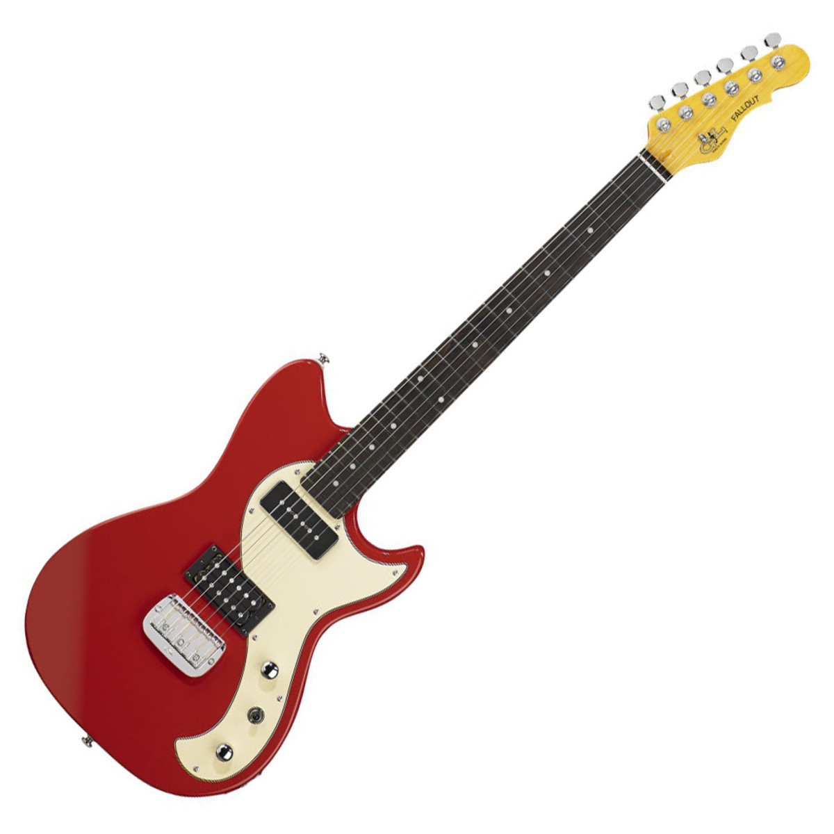 g l tribute fallout electric guitar fullerton red box opened at gear4music. Black Bedroom Furniture Sets. Home Design Ideas
