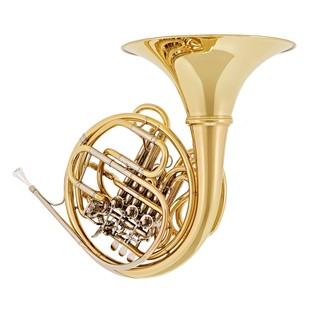 Hans Hoyer 6801 Double French Horn, Clear Lacquer, Detachable Bell