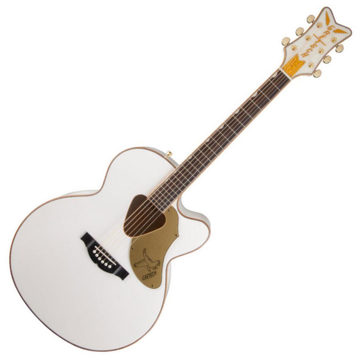 Gretsch Acoustic Guitars >> Gretsch G5022cwfe Rancher Falcon Jumbo Electro Acoustic Guitar B Stock