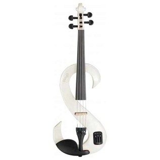 Stagg 4/4 Electric Violin, White