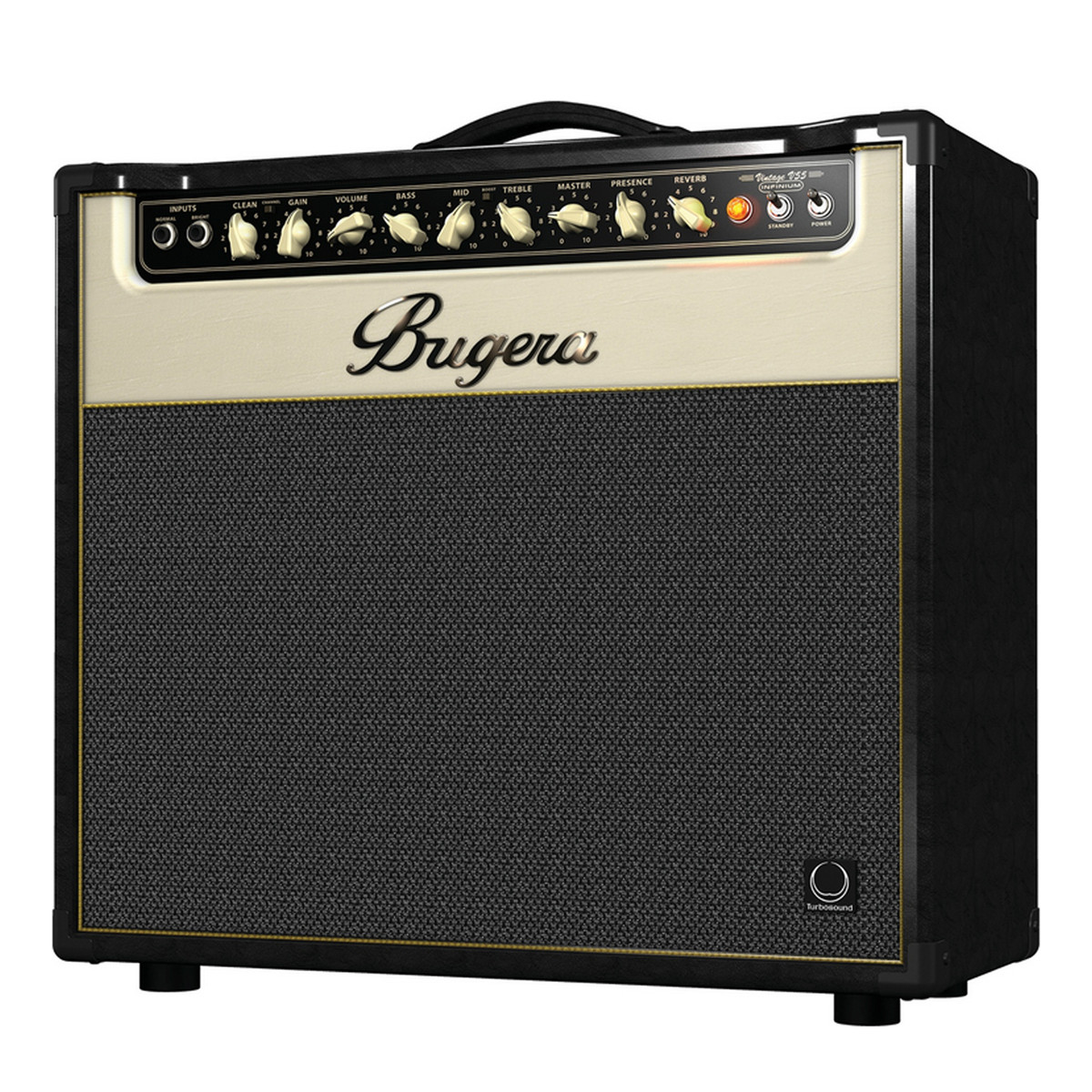 bugera v55 infinium 55 watt vintage 2 channel tube combo amp b stock at gear4music. Black Bedroom Furniture Sets. Home Design Ideas