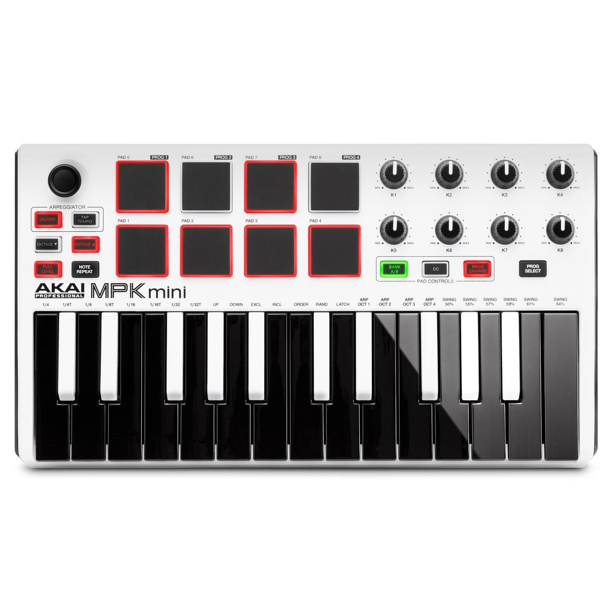 Click to view product details and reviews for Akai Professional Mpk Mini Mk2 Laptop Production Keyboard White.