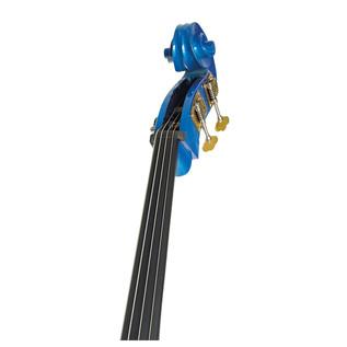 Stentor Rockabilly 3/4 Double Bass, Blue