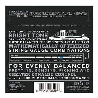 DAddario EXL110BT Nickel Wound, Balanced Tension Regular Light, 10-46