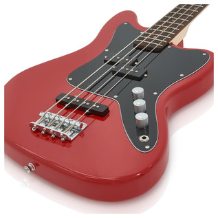 Seattle Bass Guitar by Gear4music, Gala Red