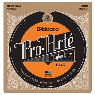 DAddario EJ43 Pro-Arté Nylon, Light Tension