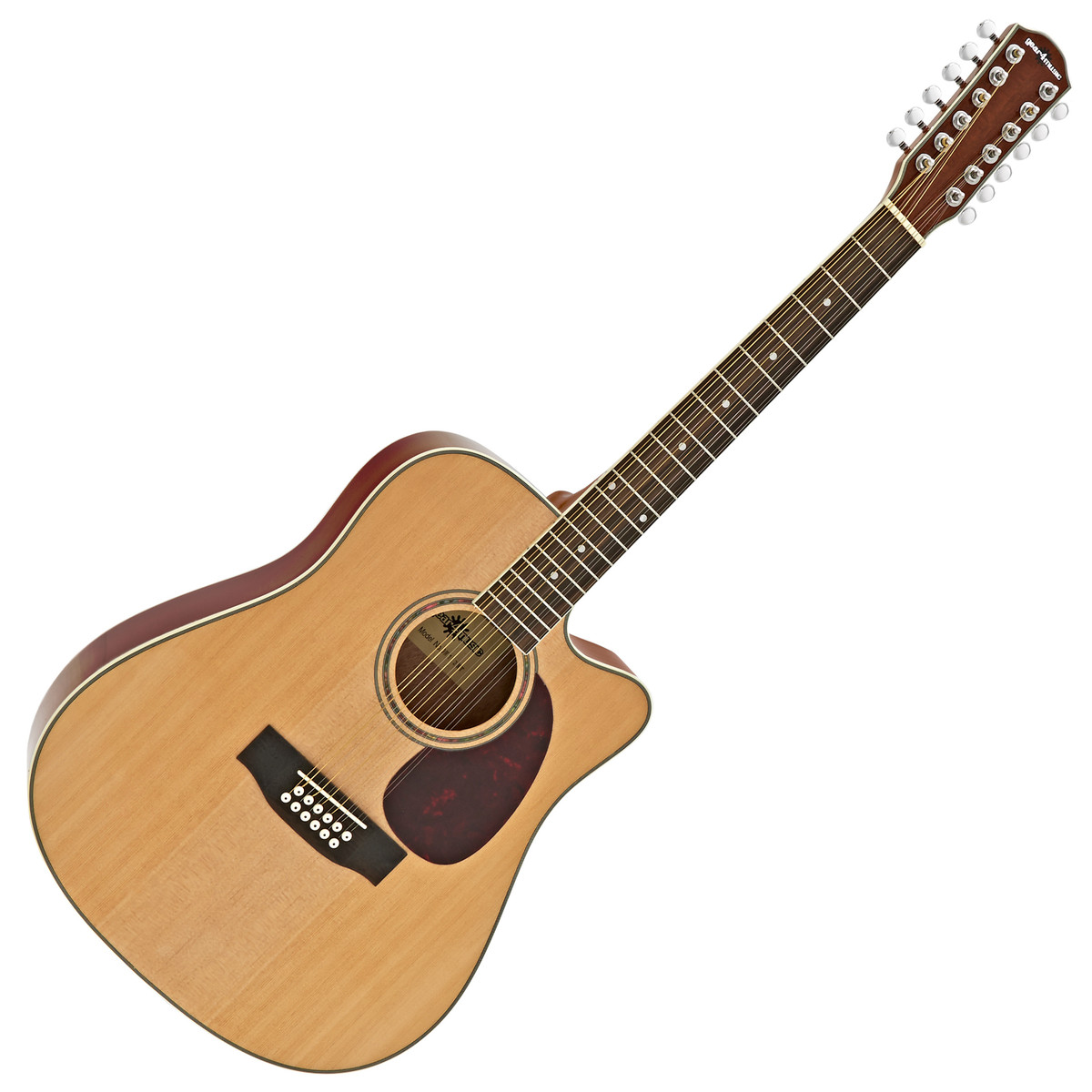 dreadnought 12 string acoustic guitar by gear4music b stock at gear4music. Black Bedroom Furniture Sets. Home Design Ideas