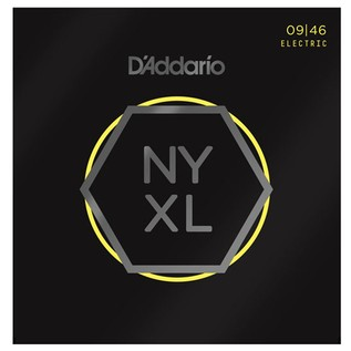 DAddario NYXL0946 Nickel Wound, Super Light Top/Regular Bottom, 09-46