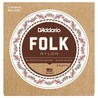 D'Addario EJ32 Folk Nylon klassisk gitarstrenger med Ball End
