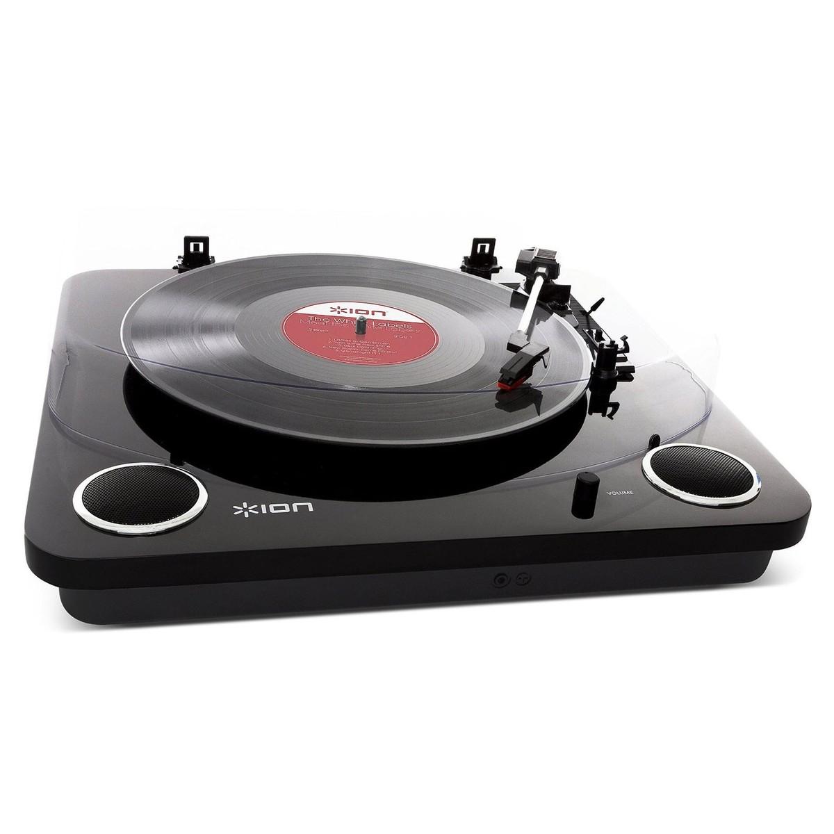 ion max lp platine vinyle usb avec haut parleurs int gr s. Black Bedroom Furniture Sets. Home Design Ideas