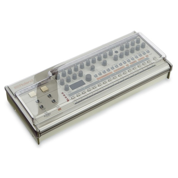 Decksaver Roland Boutique TR-09 and TB-03 Cover - TR-09 Angled