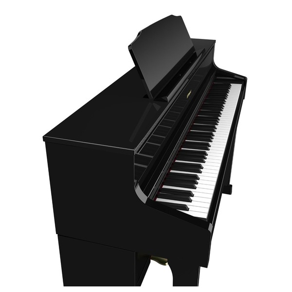 Roland HP605 Piano Side