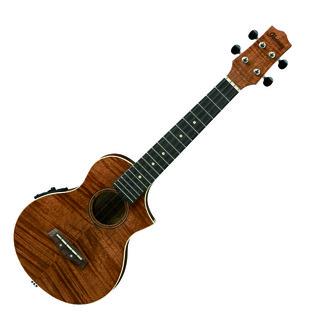 Ibanez UEW15E Electro Acoustic Ukulele, Mahogany, Open Pore Natural