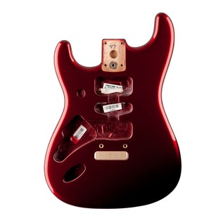 Fender USA Stratocaster Body, LH Mystic Red