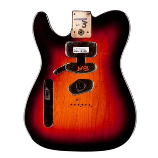 Fender USA Telecaster Body, LH 3-Colour Sunburst