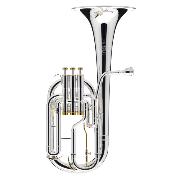 Besson Prestige BE2050 Tenor Horn, Silver Plated