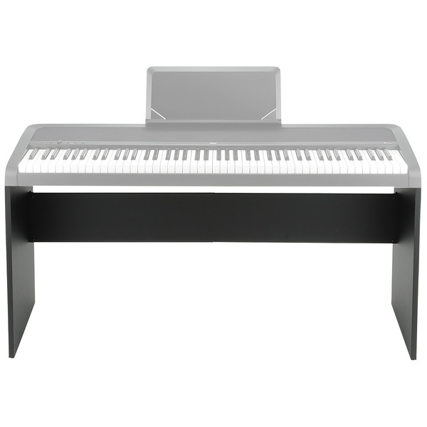 Korg B1 Digital Piano Stand, Black - Piano View (Not Included)