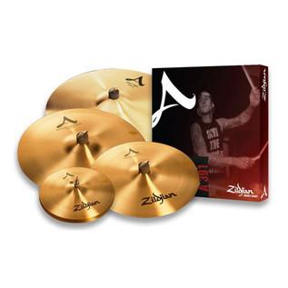 Zildjian A Zildjian Cymbal Box Set with FREE 21'' A Sweet Ride