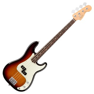 Fender American Pro Precision Bass Guitar RW, 3-Tone Sunburst
